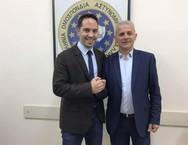 Ο Λευτέρης Βαρουξής συναντήθηκε με τον πρόεδρο της ΠΟΑΣΥ