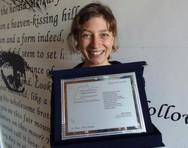 Η Λένα Νάτση διακρίθηκε με το βραβείο Αδημοσίευτου Ποιήματος