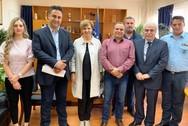 Η Όλγα Γεροβασίλη προχώρησε σε συνάντηση με αντιπροσωπεία της Ένωσης Αστυνομικών Υπαλλήλων Αχαΐας