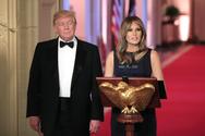 Εντυπωσίασε η Μελάνια Τραμπ με το φόρεμα των 6.000 δολαρίων