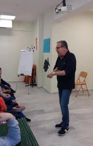 Ο Χρήστος Δημόπουλος επισκέφθηκε το 16ο Δημοτικό Σχολείο Πατρών (φωτο)