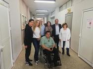 Επίσκεψη Αντώνη Χαροκόπου στο Δ.ΙΕΚ Αιγίου