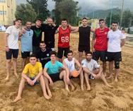 Πραγματοποιήθηκαν προπονήσεις beach handball από αθλητές της Ακαδημίας των Σπορ
