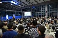 Με ισχυρό συμβολισμό η ομιλία του Λευτέρη Βαρουξή χθες στον Πύργο