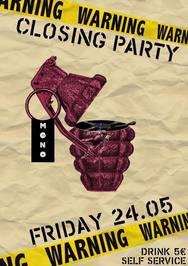 Closing Party at MONO Bar
