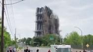 Κτίριο 21 ορόφων κατέρρευσε μέσα σε λίγα δευτερόλεπτα (video)
