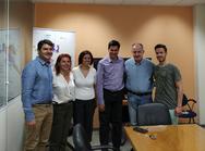 Επίσκεψη του 'σπιράλ' και του υποψηφίου Δημάρχου Πέτρου Ψωμά στο Επιστημονικό Πάρκο Πατρών