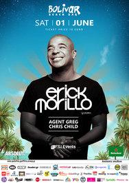 Erick Morillo atBolivar Beach bar