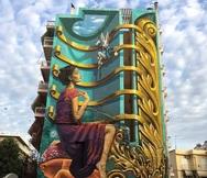 Οι 25 τοιχογραφίες του Artwalk στην Πάτρα και το 'καρφί' της ψυχής του φεστιβάλ!