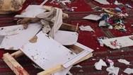 Εικόνες από έκρηξη βόμβας σε τέμενος στο Αφγανιστάν (video)