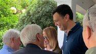 Μαζί με την Τζένη Μπαλατσινού ψήφισε ο Βασίλης Κικίλιας (φωτο)