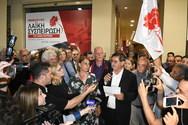 'H Πάτρα έχει δήμαρχο' - Αποθέωση στον Κώστα Πελετίδη από τον κόσμο