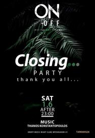 Closing Party at On - Off