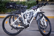 Ξεκινά στην Πάτρα η αστυνόμευση με ποδήλατα