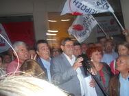 Πανηγύρια στην Λαϊκή Συσπείρωση - Πελετίδης: 'Συνεχίζουμε στο ίδιο μετερίζι...'