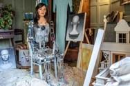 Το πρώτο στον κόσμο ρομπότ που θα κάνει έκθεση ζωγραφικής (φωτο+video)