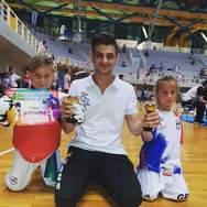 Εξαιρετικές εμφανίσεις σημείωσαν οι αθλητές του Α.Σ. Αστραπή στο Champion Kids Cup