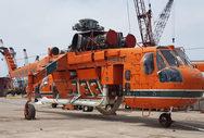 Ηλεία: Φτάνουν τα ελικόπτερα Erickson Air Crane στην Ανδραβίδα (φωτo)