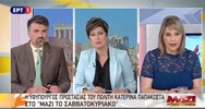 Κατερίνα Παπακώστα για αποδράσεις: 'Είναι θέμα διαχρονικό, συμβαίνουν αυτά' (video)
