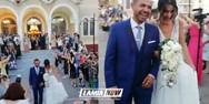 Ο πιο αθλητικός γάμος έγινε στη Λαμία (video)