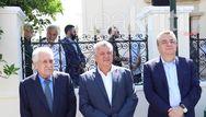 Ο Φώτης Κουβέλης παρευρέθηκε στην επέτειο των 77 χρόνων από το σαμποτάζ στο αεροδρόμιο του Καστελλίου