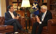 Στον Προκόπη Παυλόπουλο ο Αλέξης Τσίπρας το απόγευμα για να ζητήσει πρόωρες κάλπες