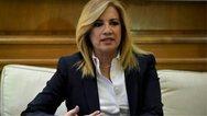 Φώφη Γεννηματά: 'Ο Τσίπρας έγινε ο μεγάλος χορηγός του Μητσοτάκη'