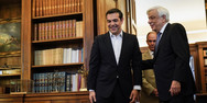 Στο Προεδρικό Μέγαρο ο Αλέξης Τσίπρας