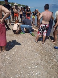 Πάτρα: Νεκροί δυο ηλικιωμένοι από πνιγμό στην Πλαζ (φωτο)