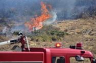 Πάτρα: Ξέσπασε φωτιά στον Ρηγανόκαμπο