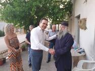 Ο Γιώργος Κουτρουμάνης περιόδευσε στον Δήμο Ερυμάνθου (φωτο)