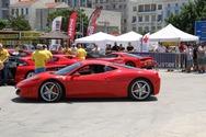 Οι Ferrari έκαναν 'κατάληψη' στο Μόλο της Αγίου Νικολάου της Πάτρας! (φωτο)