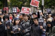 Δυναμικές διαδηλώσεις στο Χονγκ Κονγκ κατά της κυβέρνησης (video)