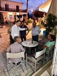 Αχαΐα: Περιοδεία του Γιώργου Κουτρουμάνη σε Μαζαράκι, Κώμη και Μιτόπολη