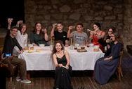 Πάτρα:Mε επιτυχία η θεατρική παράσταση 'Ο Δείπνος' (φωτο)