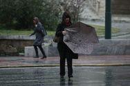 Καταιγίδες και χαλάζι και στην Αθήνα