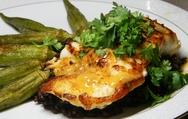 Συνταγή για φιλέτο σφυρίδας με σάλτσα από κόλιανδρο