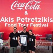 Ο Άκης Πετρετζίκης μπήκε στο βιβλίο Guinness! (φωτο)