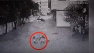 Συγκλονιστική διάσωση παιδιών που παρασύρθηκαν από ορμητικά νερά (video)