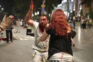Γεωργία: Πεδίο μάχης έξω από το κοινοβούλιο - Δεκάδες τραυματίες (φωτο+video)
