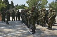 Επίσκεψη Γενικού Επιθεωρητή Στρατού στη Νήσο Ρόδο (φωτο)