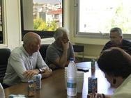 Πάτρα: Ο Γιώργος Παπανδρέου επισκέφθηκε το νοσοκομείο του Αγίου Ανδρέα (pics)