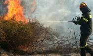 Yψηλός ο κίνδυνος πυρκαγιάς την Τρίτη σε Αχαΐα και Ηλεία
