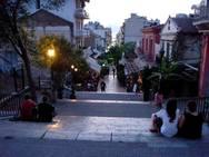 Σε κακή κατάσταση βρίσκονται οι σκάλες του ιστορικού κέντρου της Πάτρας