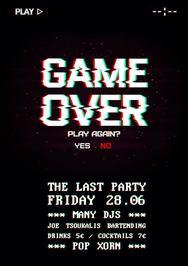Game Over at Ποπ Χορν