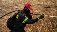 Κόρινθος: Υπό έλεγχο τέθηκε η φωτιά στην Κυρά Βρύση