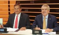 Πάτρα: Η Οργανωτική Επιτροπή των Μεσογειακών Παράκτιων Αγώνων συγχαίρει τον Σπύρο Καπράλο