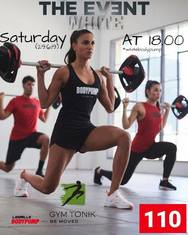 White Bodypump 110 at Gym Tonic