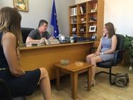Χριστίνα Αλεξοπούλου: 'Η Νέα Δημοκρατία εγγυάται ασφάλεια για όλους τους Έλληνες' (φωτο)
