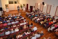 Μεγάλη η συγκέντρωσητου Γιώργου Κουτρουμάνη στο Αίγιο(φωτο)